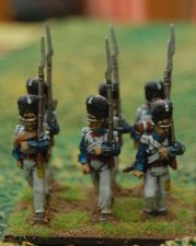 Polish grenadiers in campaign uniform