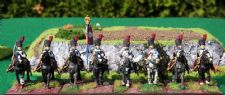 Foundry Grenadiers a cheval.  Nice figures.  Again, on duty in Canada.