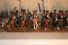 Foundry Dutch lancers - 12 off including bases and GMB flag - these are now sold!