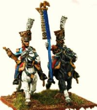 Bugler and standard bearer - These are now sold!